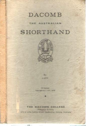 Dacomb: Shorthand